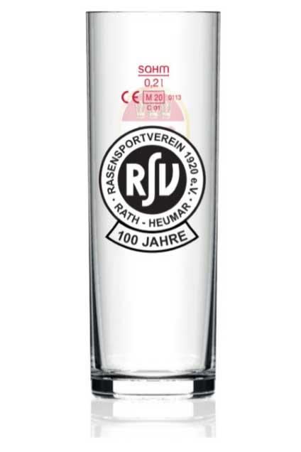 100 Jahre RSV – Kölschglas Sonderedition –